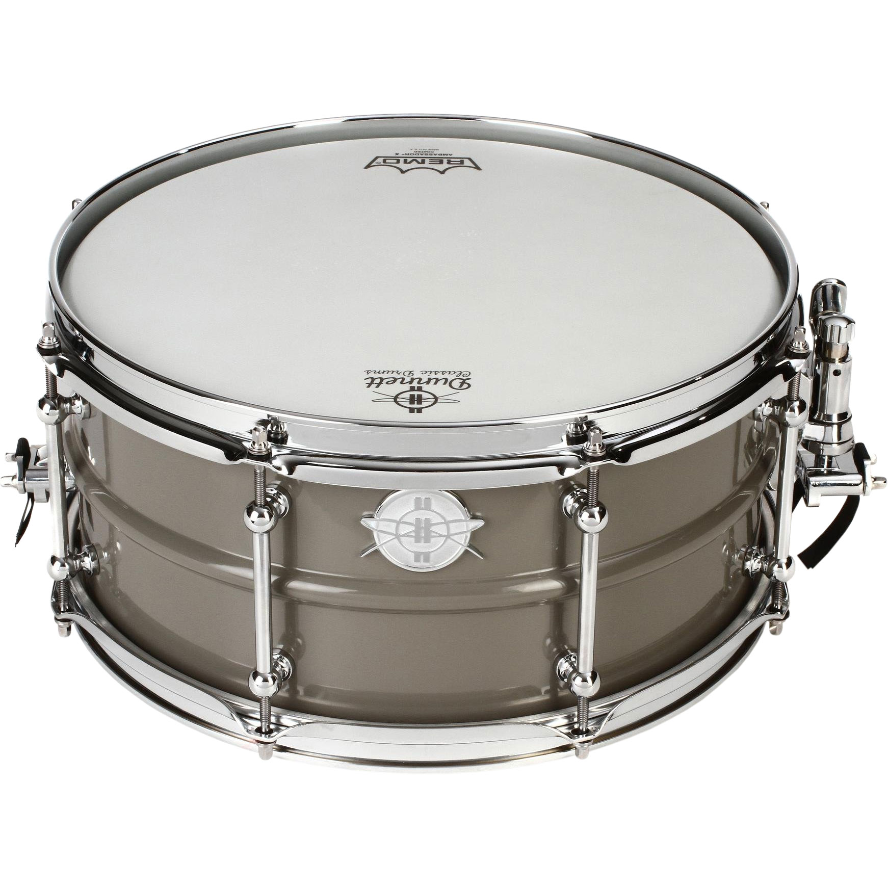 "Dunnett 6.5"" x 14"" Classic Model 2N Carbon Steel Snare Drum"