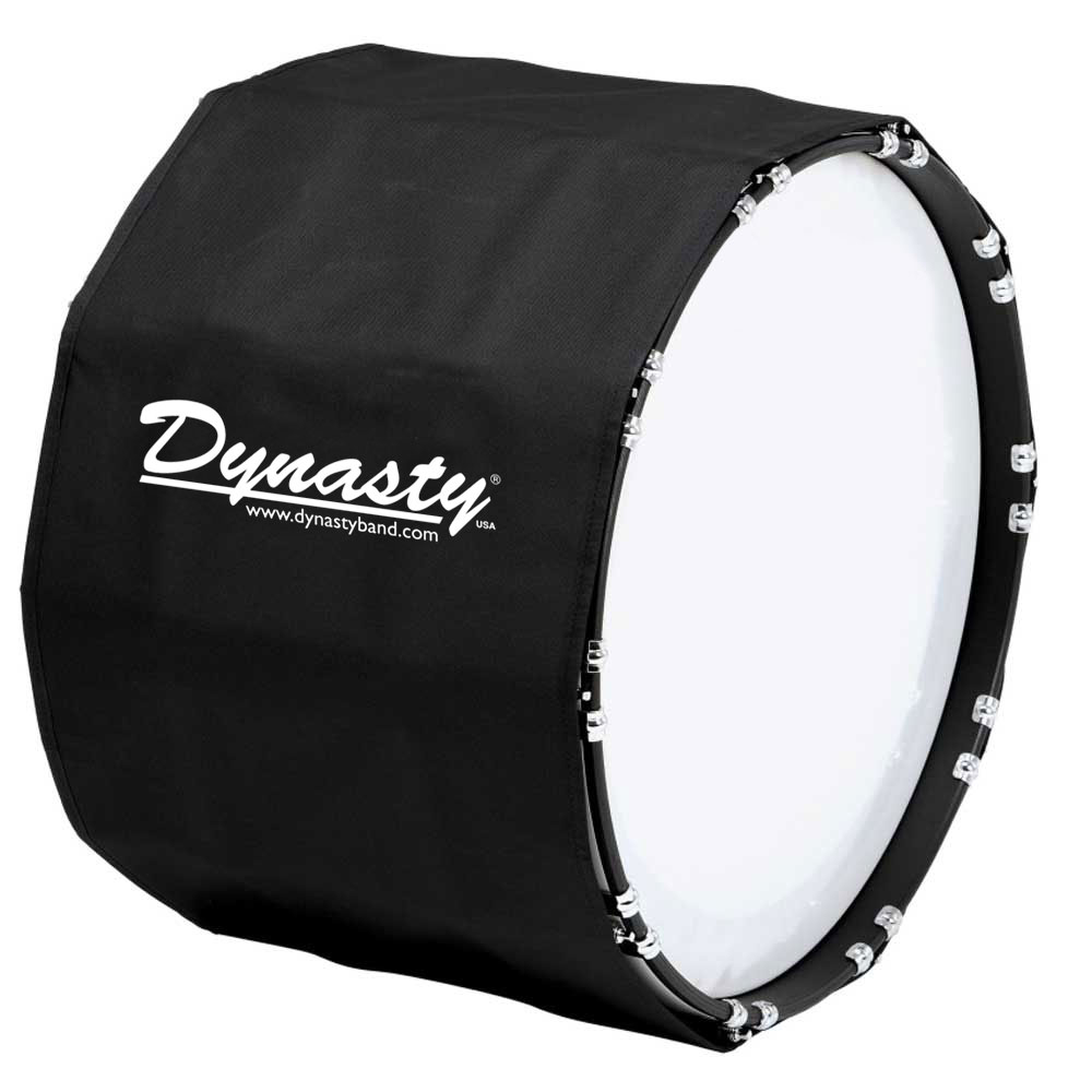 """Dynasty 18"""" Marching Bass Drum Cover"""