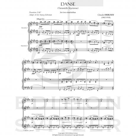 Danse by Claude Debussy arr. Nancy Zeltsman