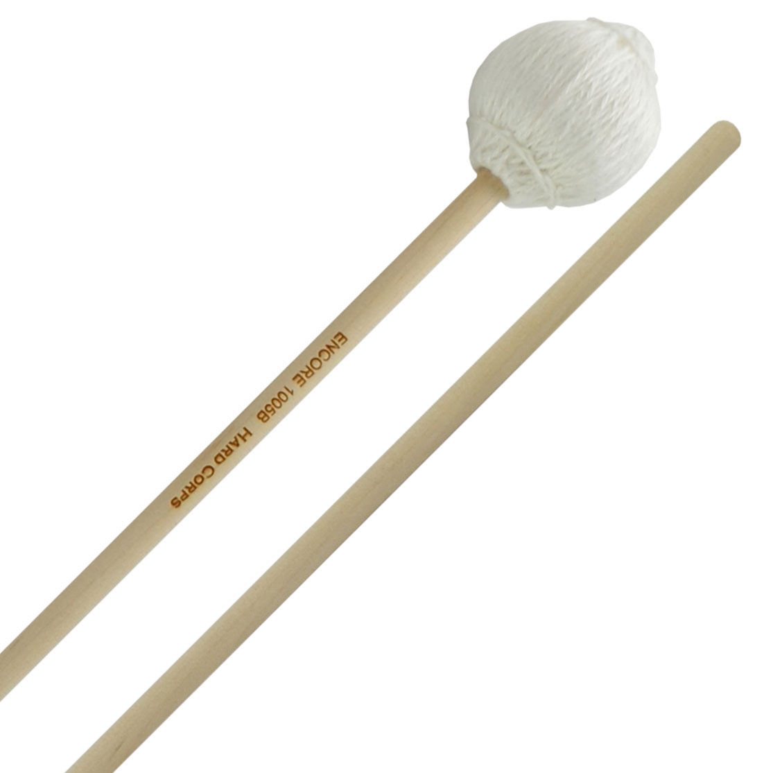"Encore ""Hard Corps"" Series Soft Marimba Mallets with Birch Handles"