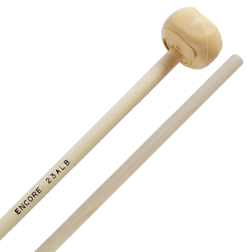 Encore Medium Latex Wrapped Keyboard Mallets with Birch Shafts