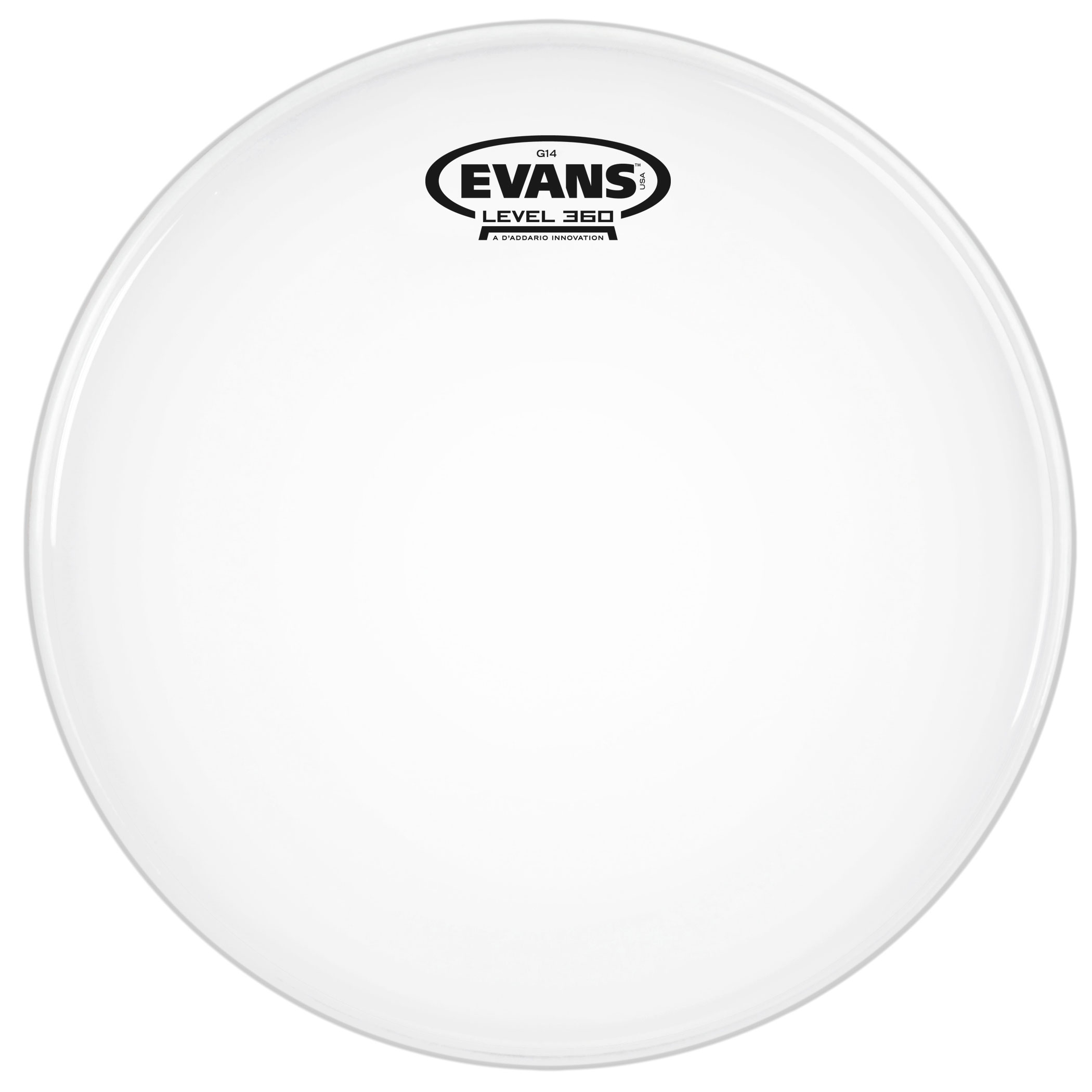 "Evans 10"" G14 Coated Head"