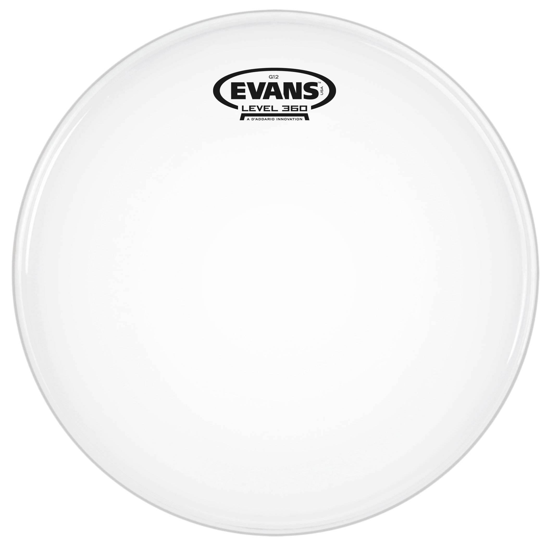 "Evans 12"" G12 Coated Head"