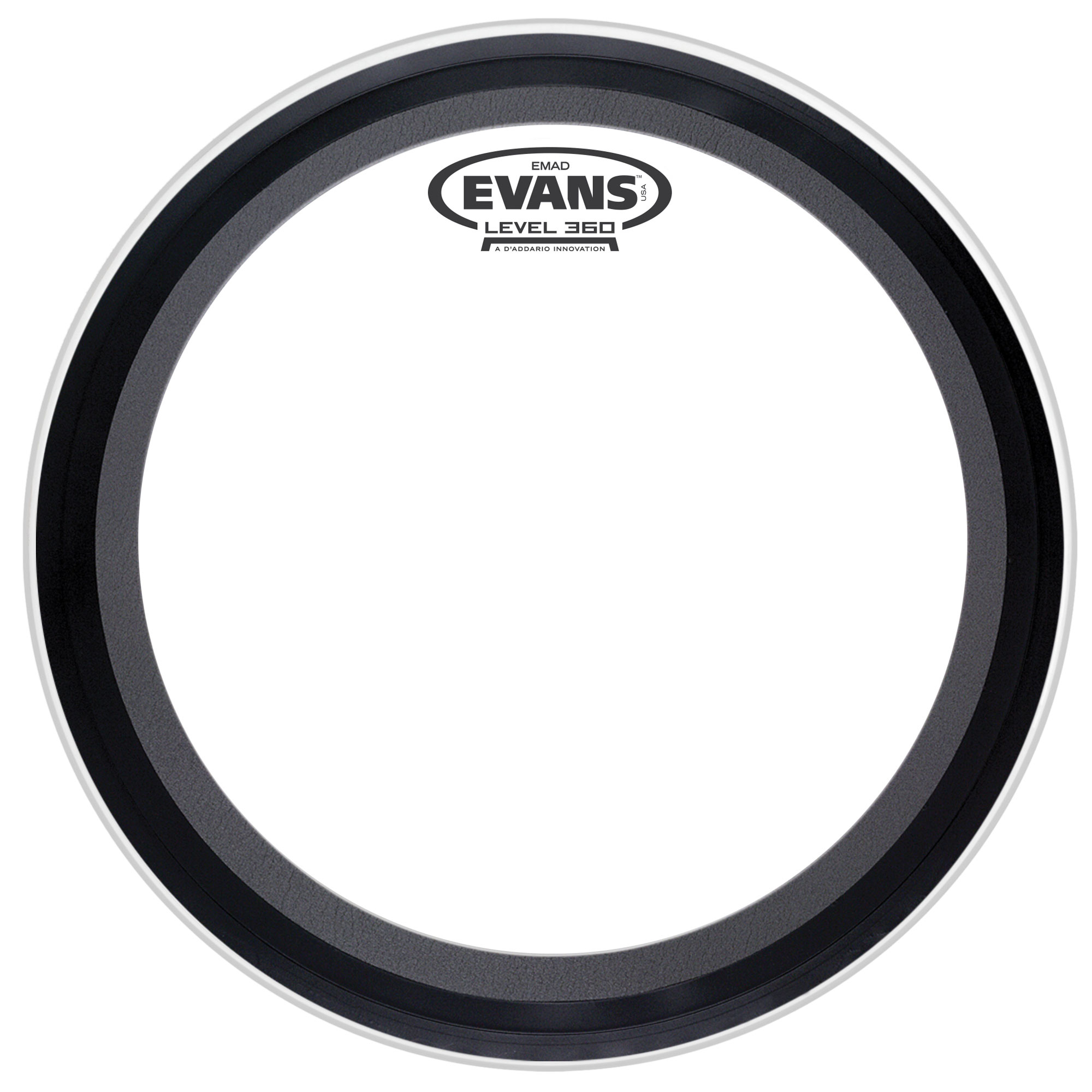 "Evans 26"" EMAD Coated Bass Head"