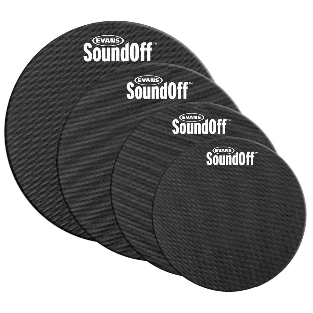 "Evans 12-13-14-16"" Sound Off Drum Mute Pack"