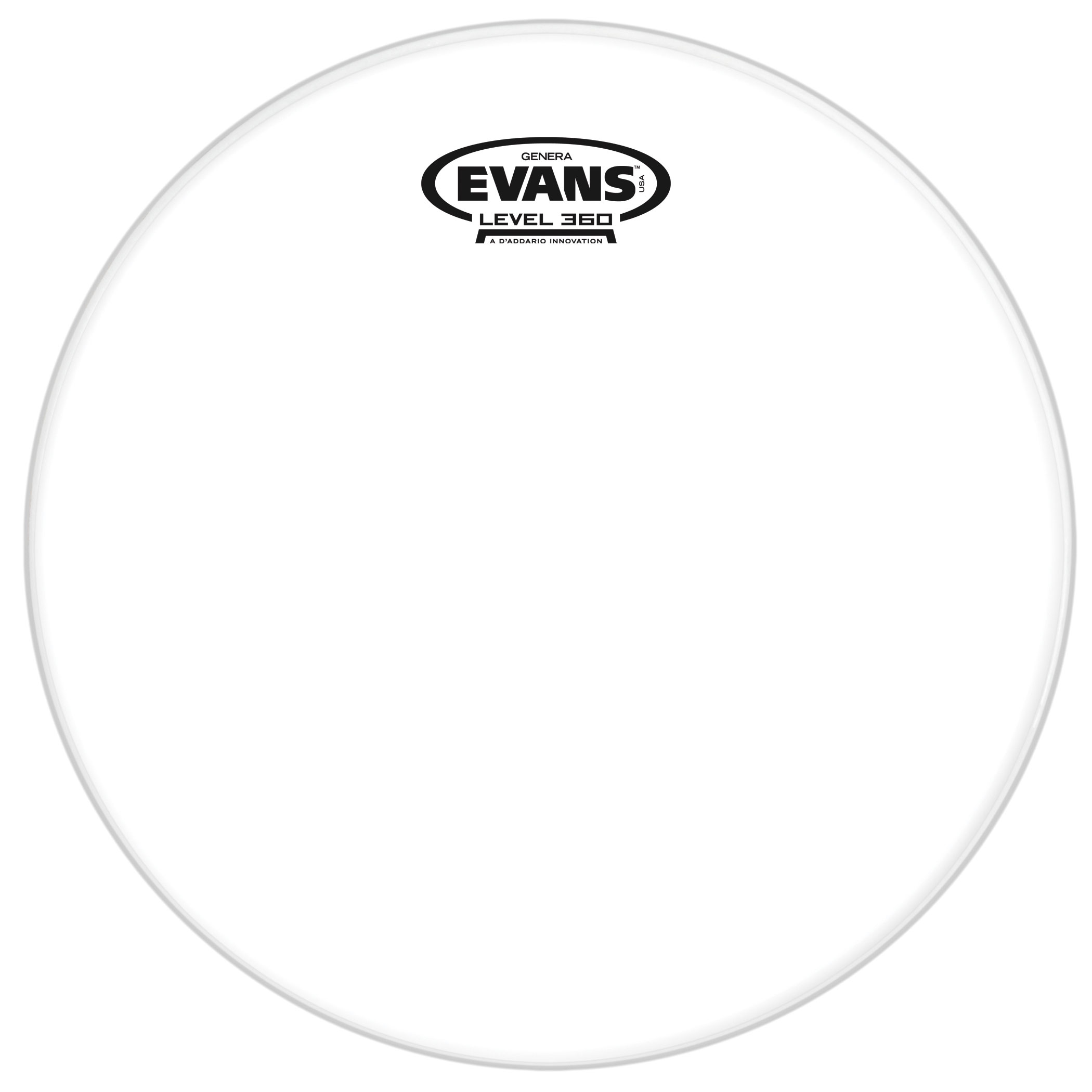 "Evans 6"" Genera Resonant Head"