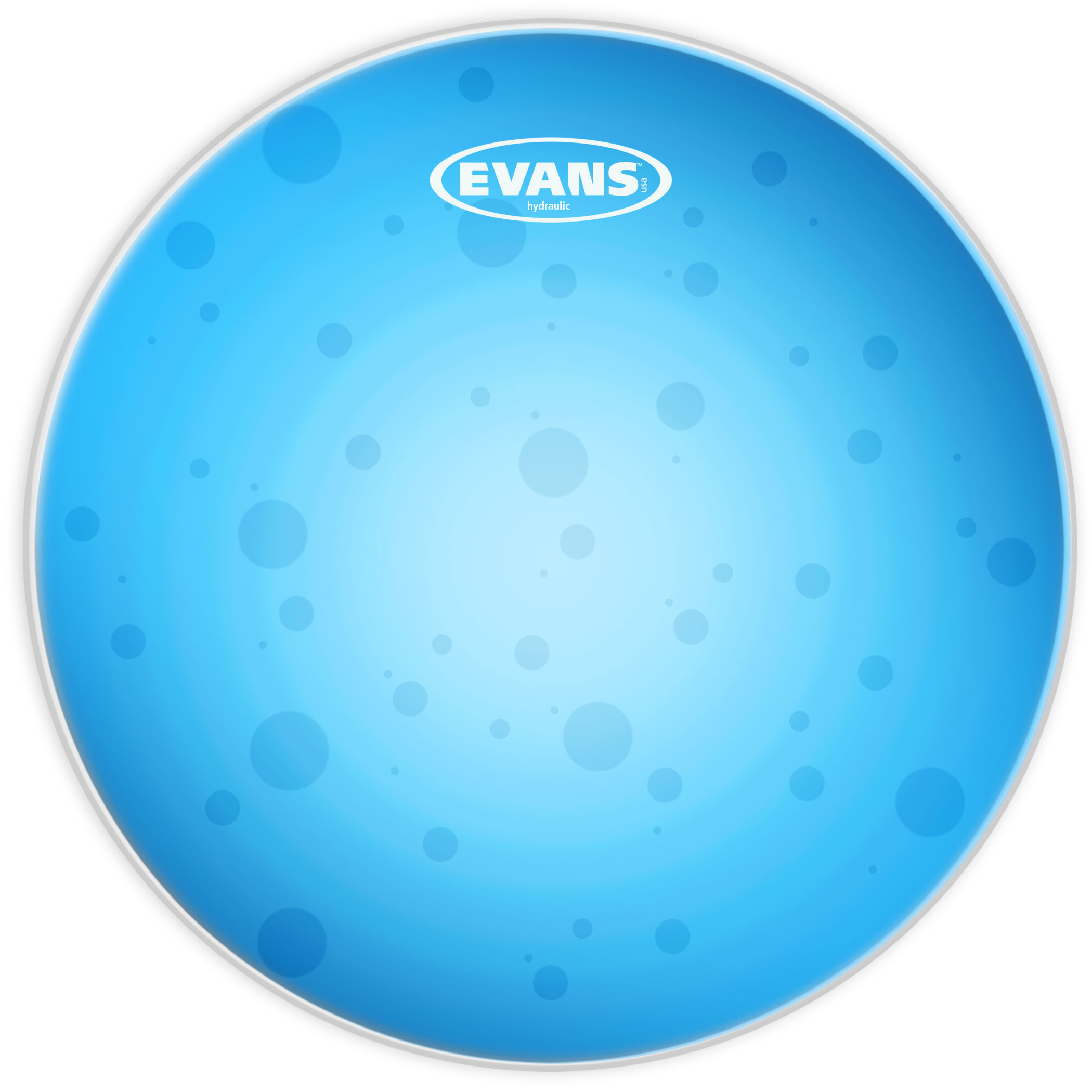 "Evans 12"" Hydraulic Blue Head"