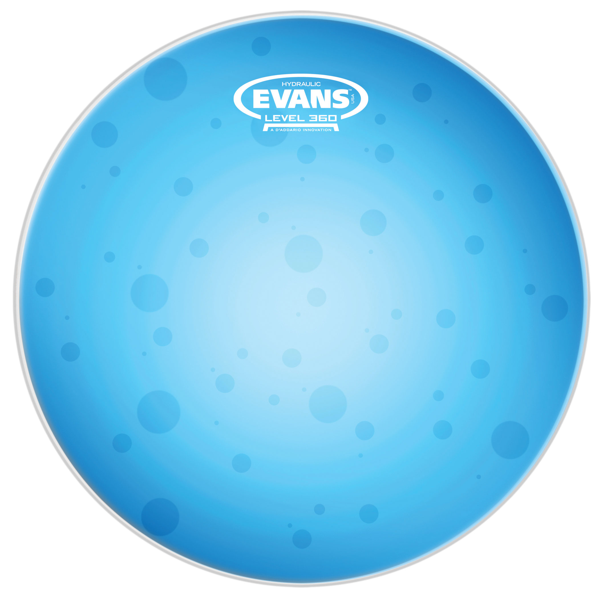 "Evans 14"" Hydraulic Blue Head"