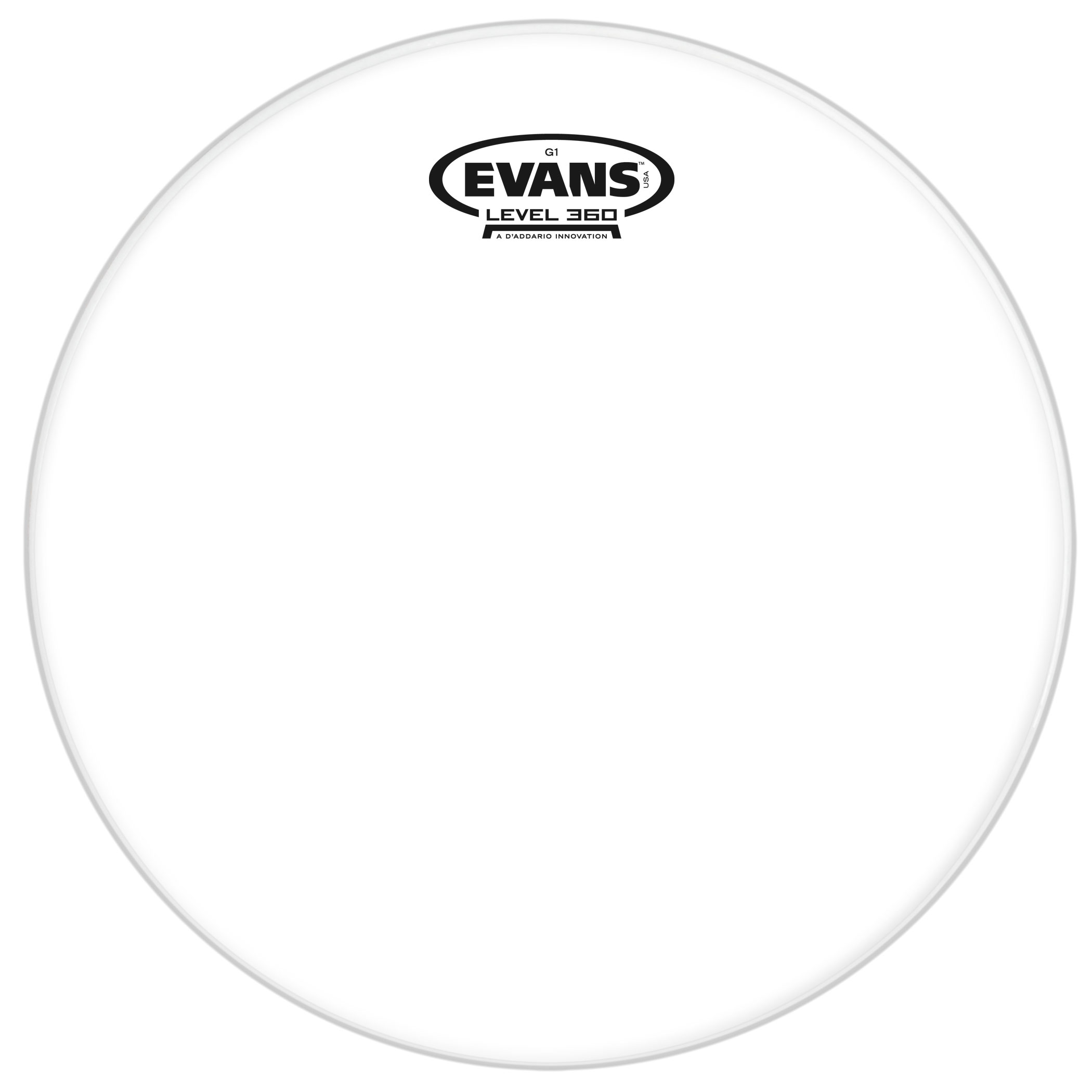 "Evans 18"" G1 Clear Tom Head"