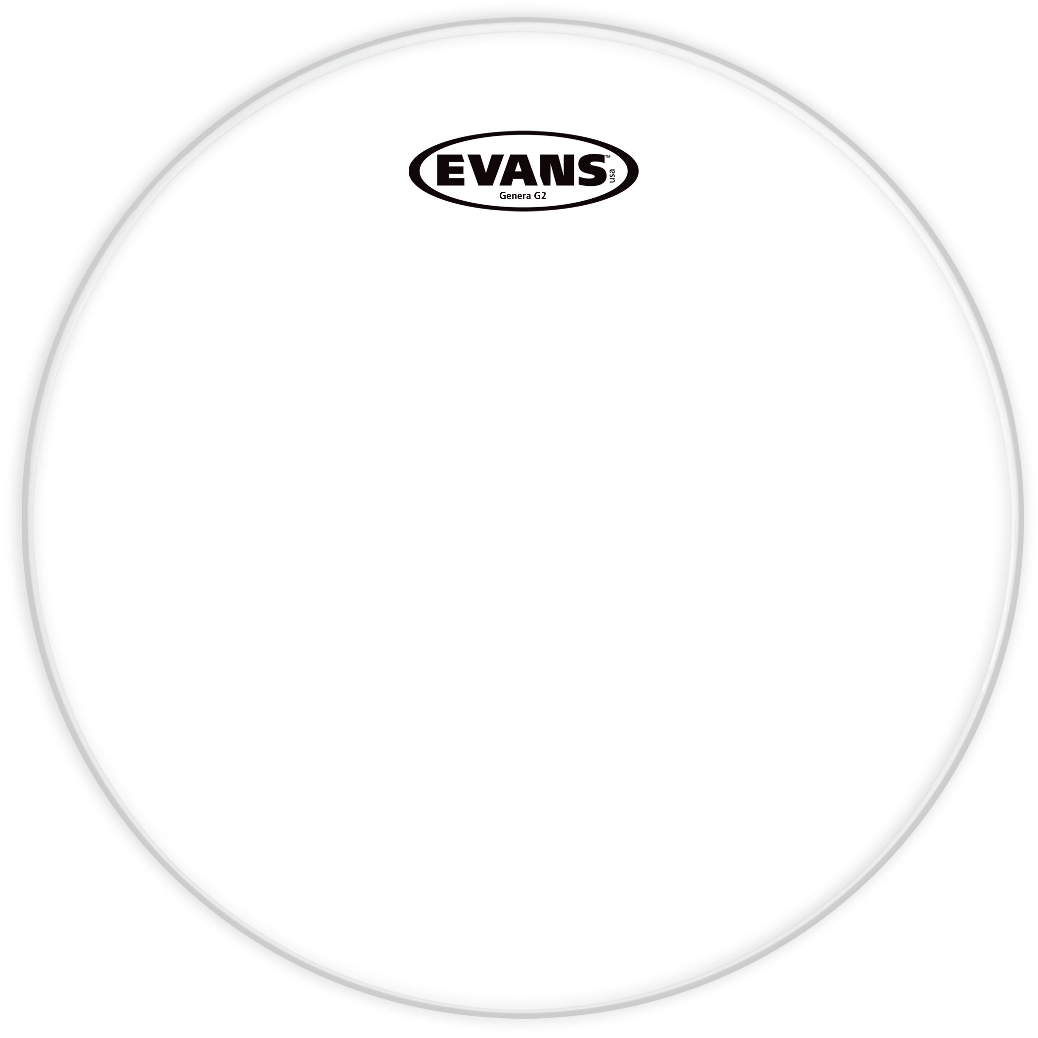 "Evans 20"" G2 Clear Tom Head"