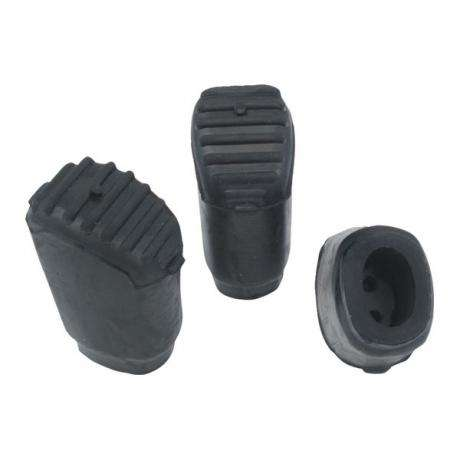 Gibraltar Rubber Feet for Elliptical Cymbal and Drum Stands (3-Pack)