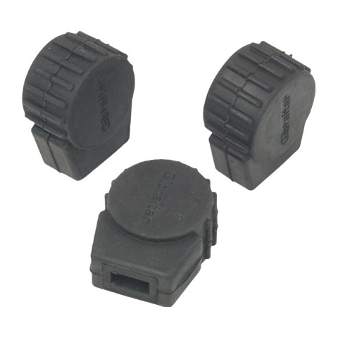 Gibraltar Small Round Rubber Feet - 3 Pack