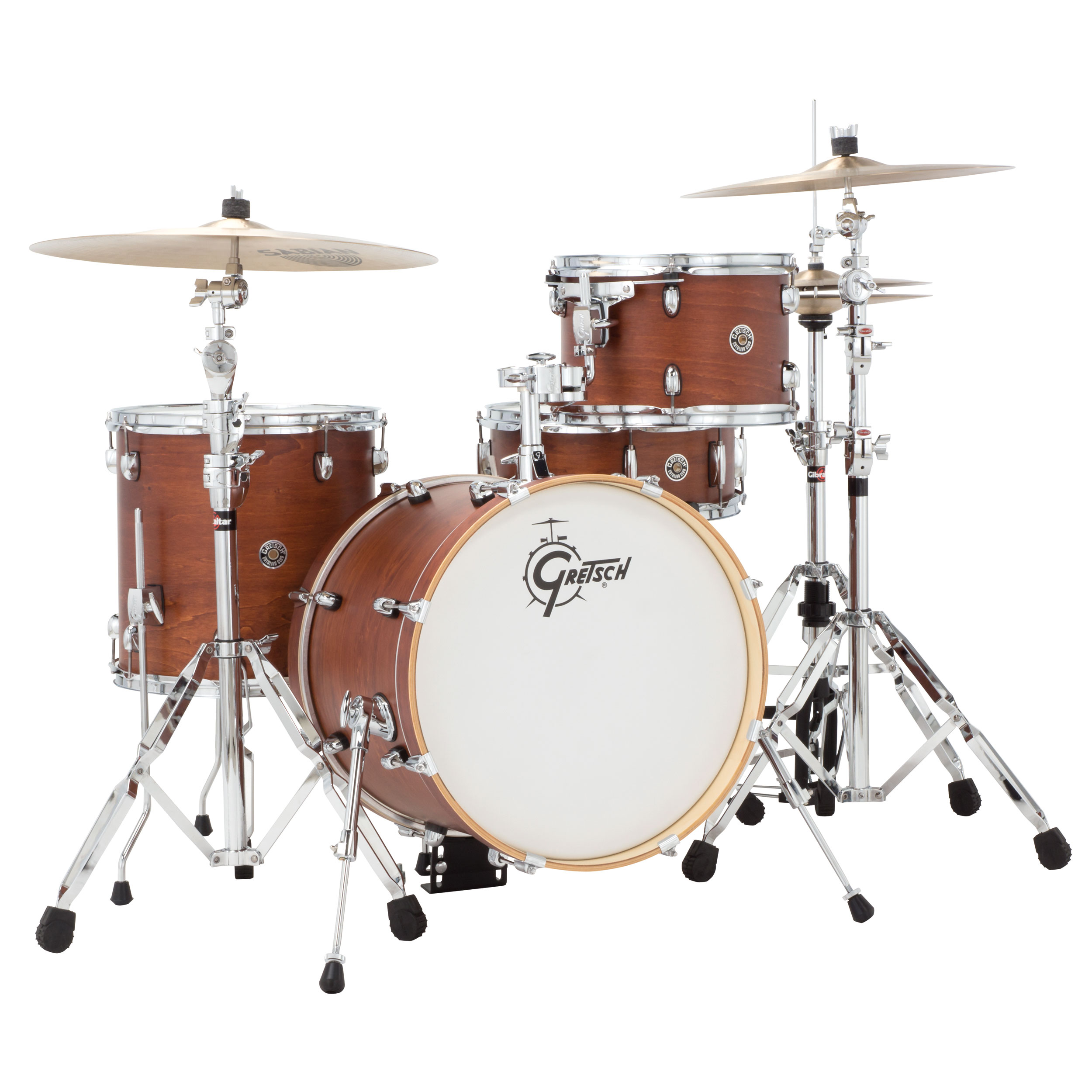 gretsch catalina club jazz 4 piece drum set shell pack 18 bass 12 14 toms 14 snare satin. Black Bedroom Furniture Sets. Home Design Ideas