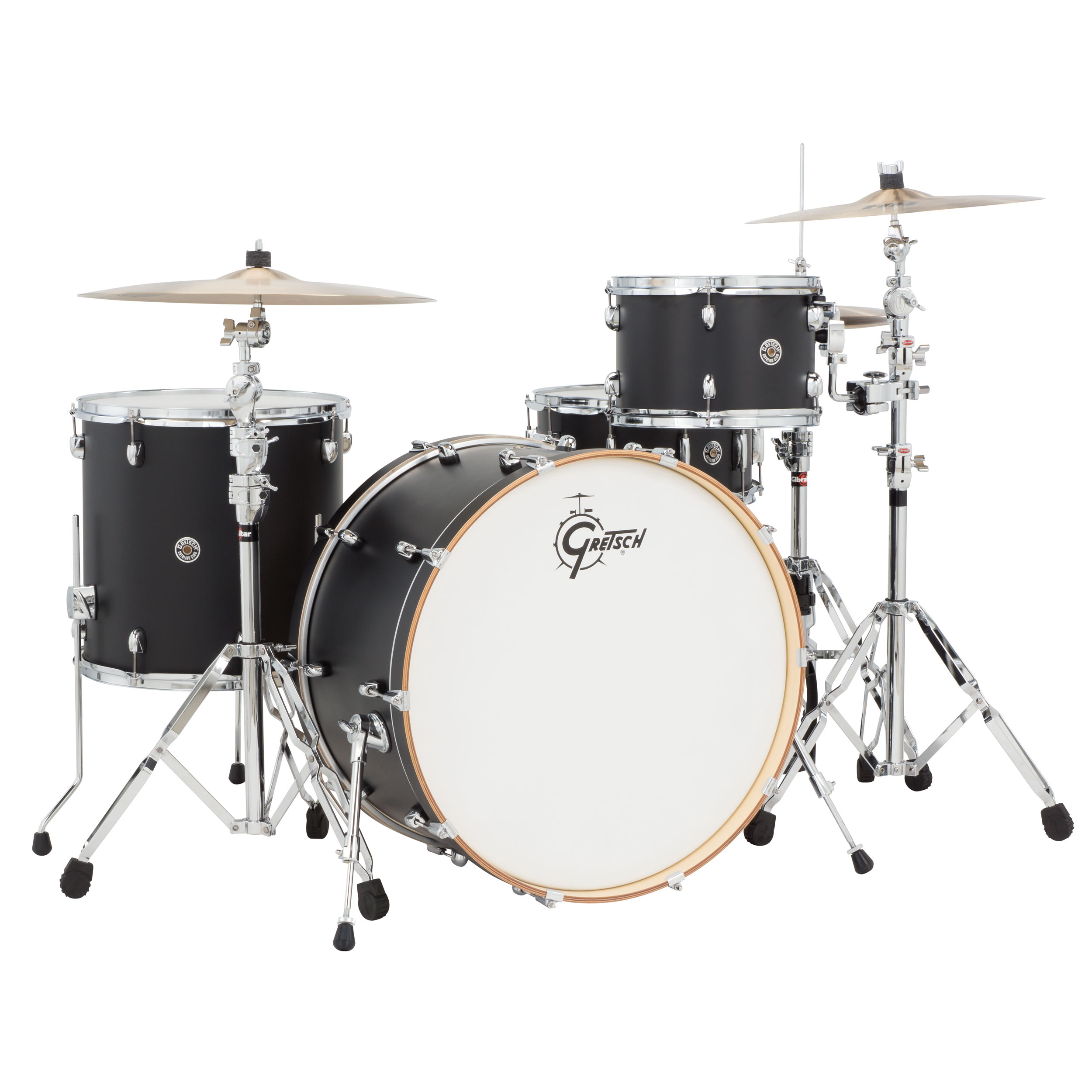 gretsch catalina club rock 4 piece drum set shell pack 24 bass 12 16 toms 14 snare satin. Black Bedroom Furniture Sets. Home Design Ideas