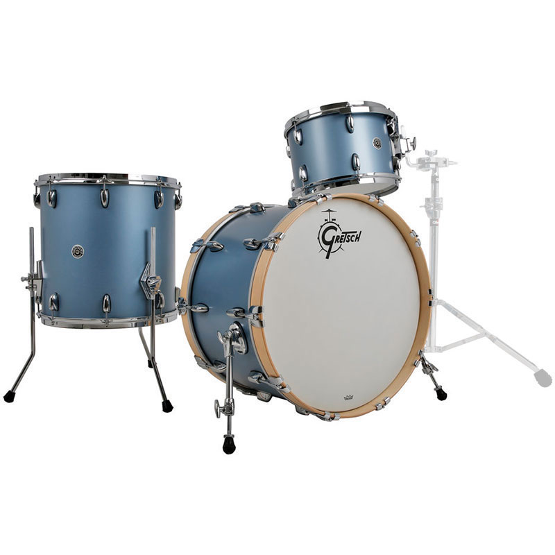 gretsch brooklyn 3 piece shell pack 24 bass 13 16 toms gb rc443. Black Bedroom Furniture Sets. Home Design Ideas