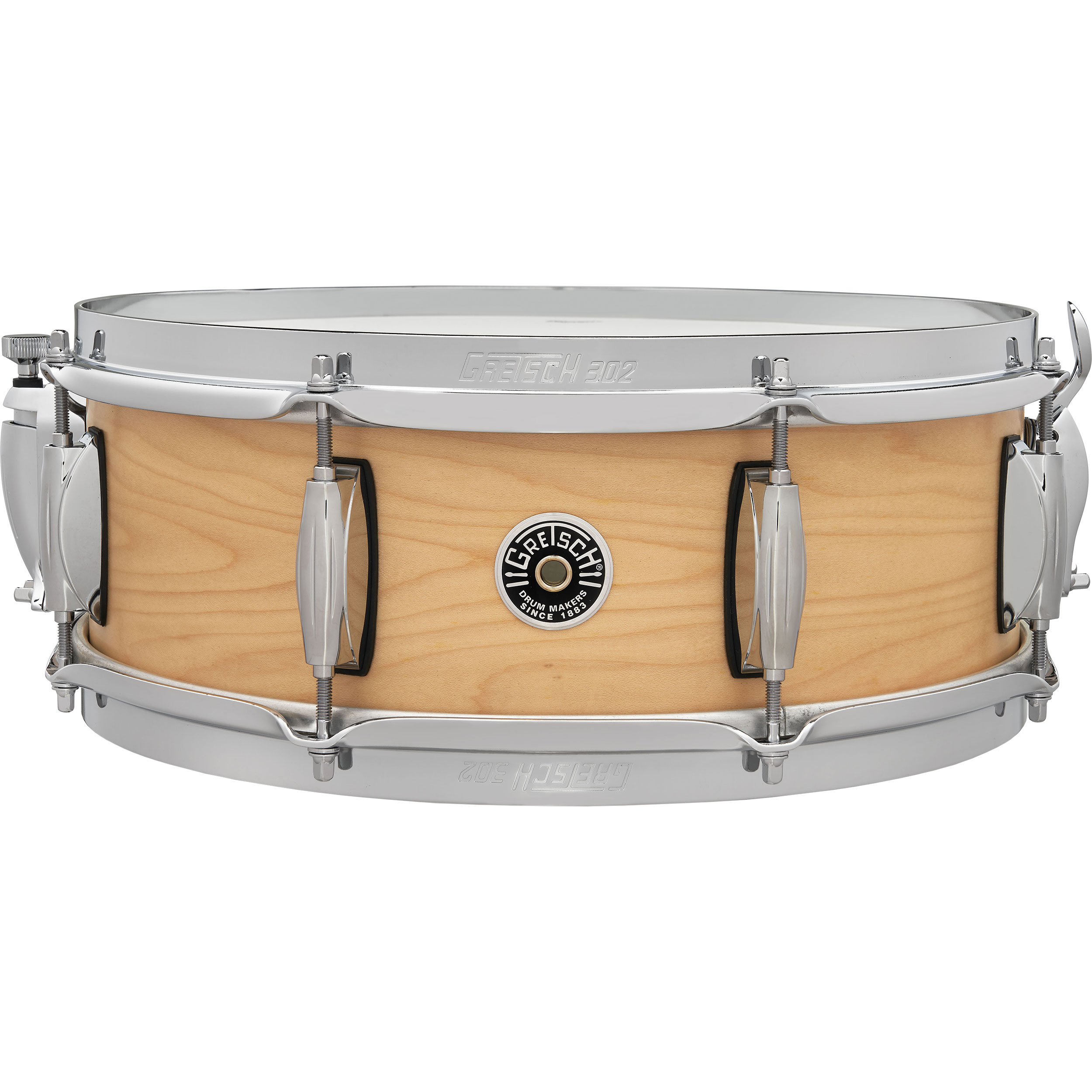 "Gretsch 5"" x 14"" Brooklyn Straight Satin Snare Drum"