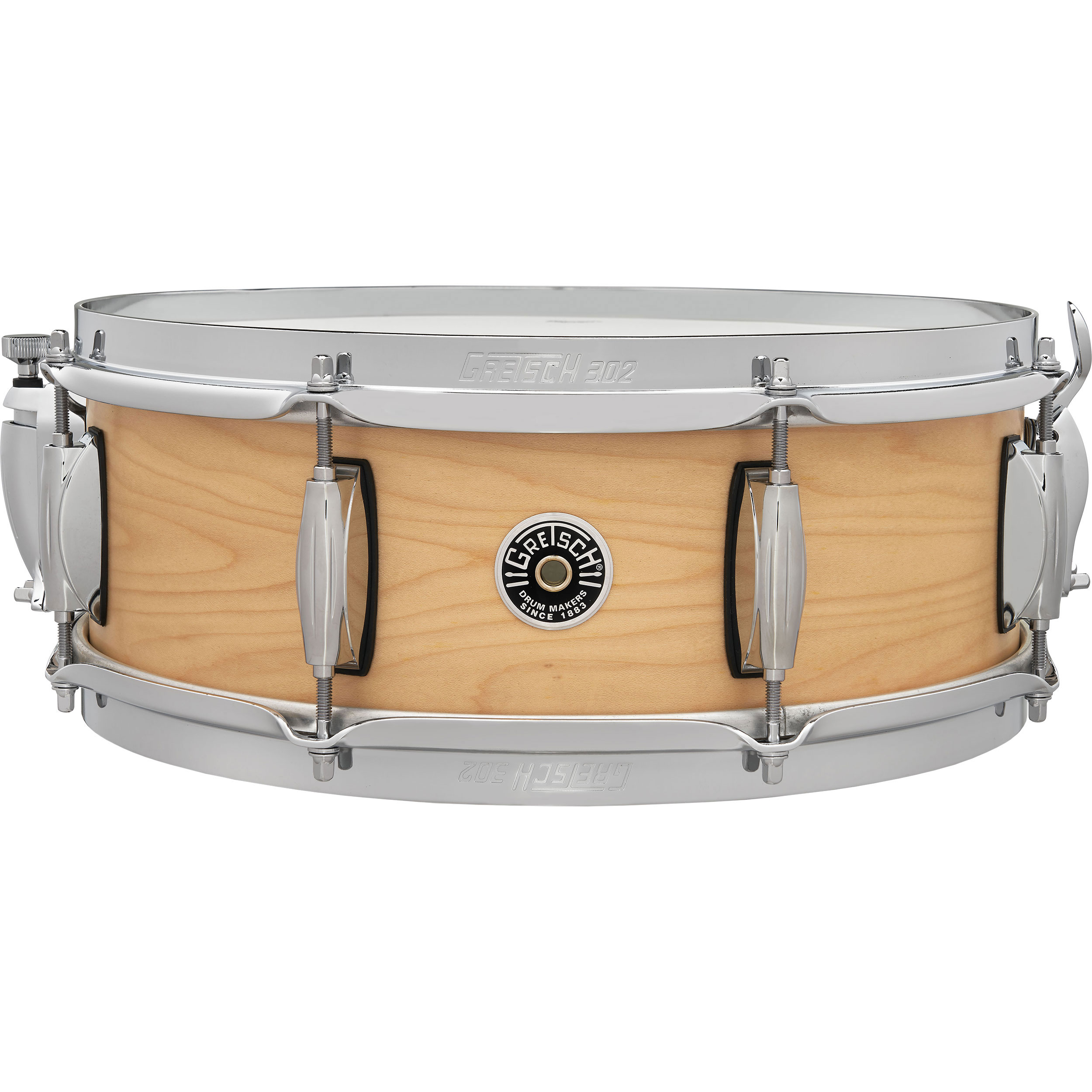 "Gretsch 6.5 x 14"" Brooklyn Straight Satin Snare Drum"