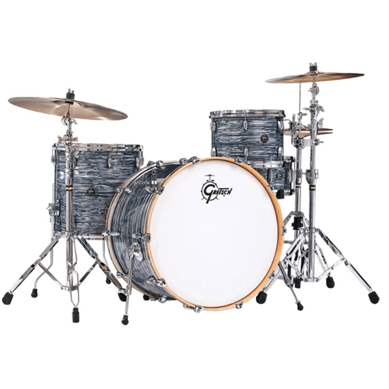 gretsch renown 4 piece drum set shell pack 24 bass 13 16 toms 14 snare rn2 r644. Black Bedroom Furniture Sets. Home Design Ideas