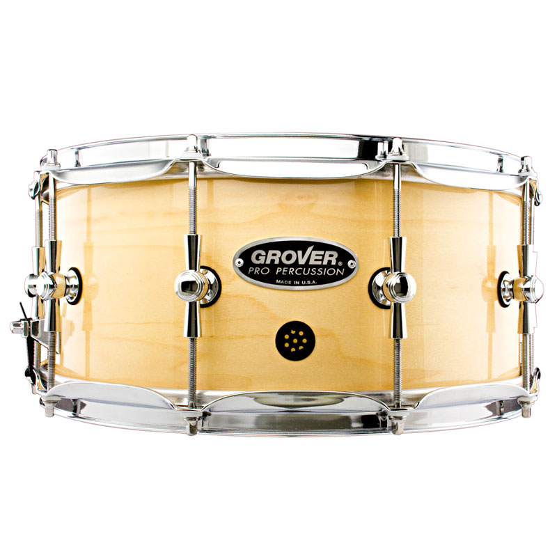 "Grover Pro 6.5"" x 14"" GSX Maple Symphonic Snare Drum"