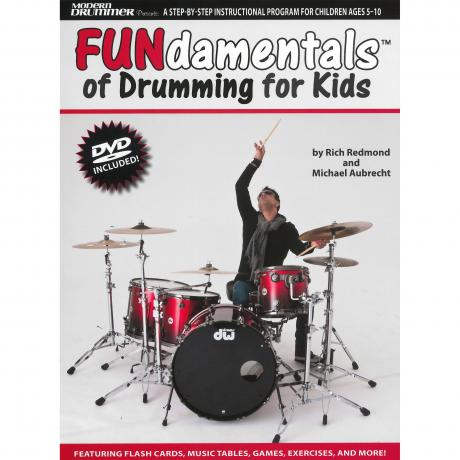 Fundamentals of Drumming for Kids by Rich Redmond & Michael Aubrecht