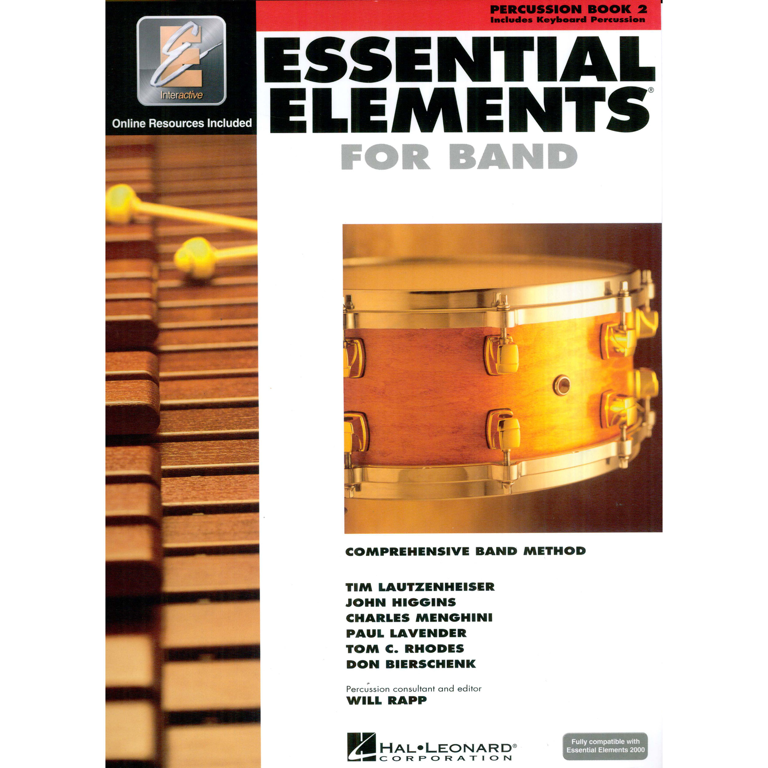 Essential Elements for Band: Percussion Book 2