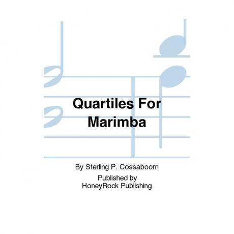Quartiles for Marimba by Sterling Cossaboom