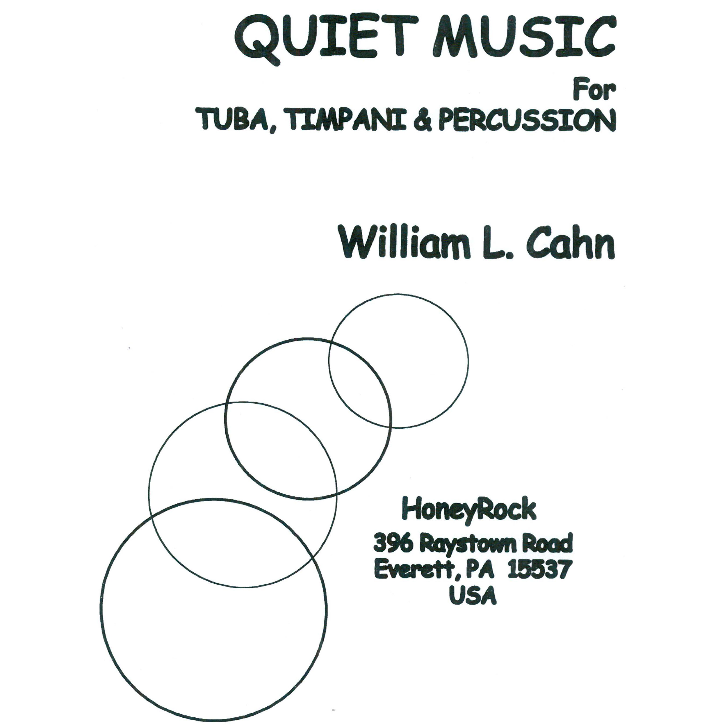 Quiet Music by William Cahn