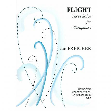 Flight: Three Solos for Vibraphone by Jan Freicher