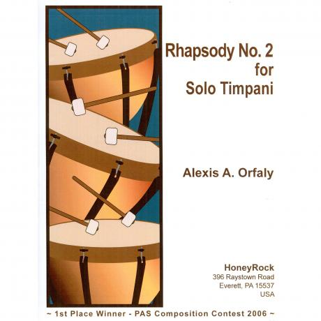 Rhapsody No. 2 for Solo Timpani by Alex Orfaly