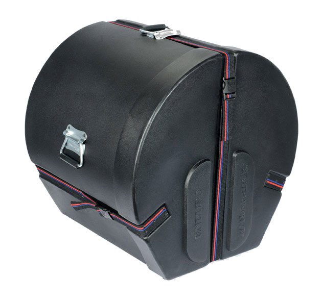 "Humes & Berg 18"" (Deep) x 18"" (Diameter) Bass Enduro Foam-Lined Case"