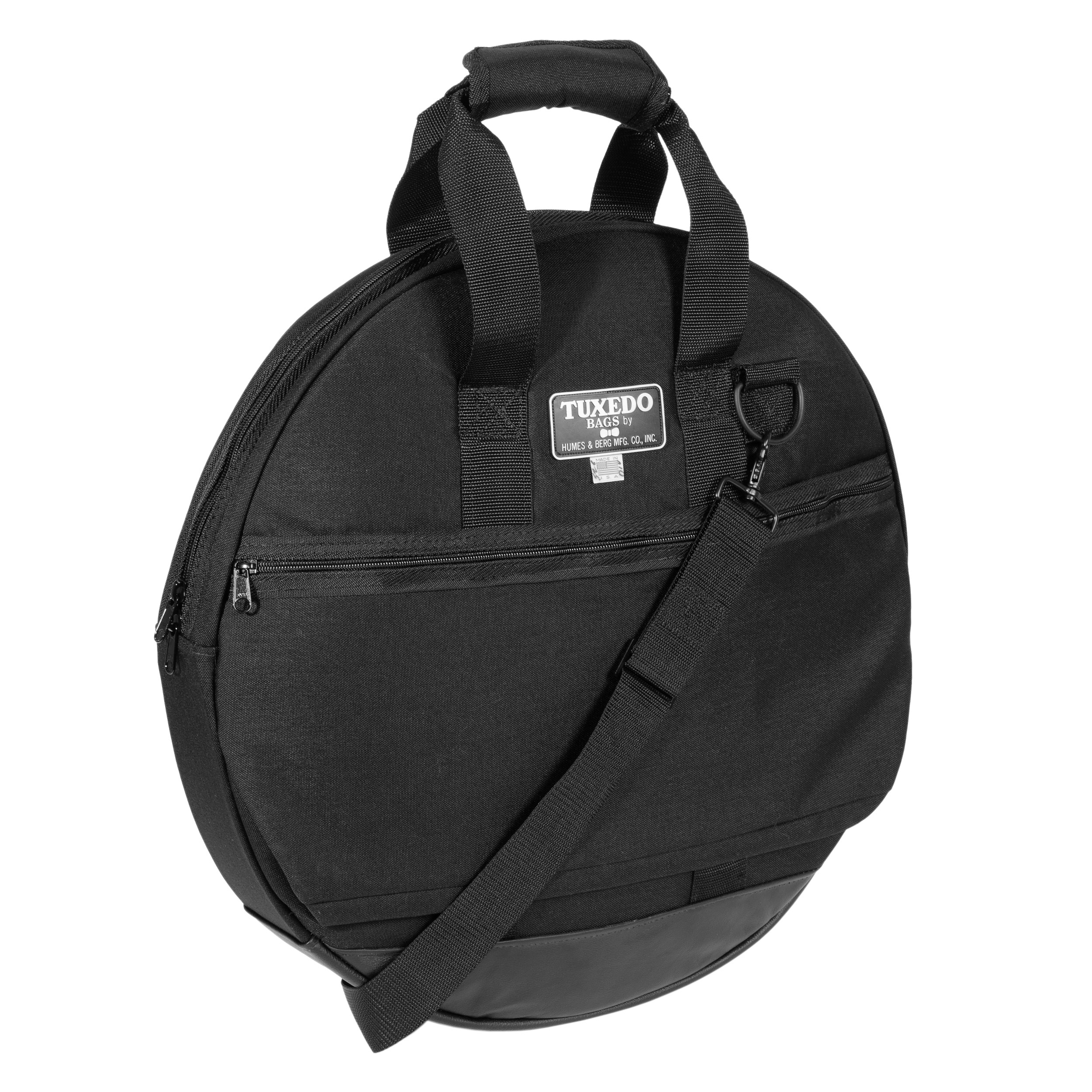 """Humes & Berg 22"""" Tuxedo Cymbal Bag with Hi Hat Pouch"""