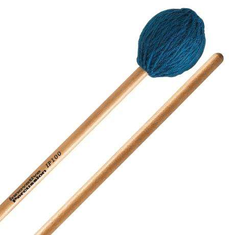 Innovative Percussion IP100 Soloist Series Soft Marimba Mallets with Lacquered Birch Shafts
