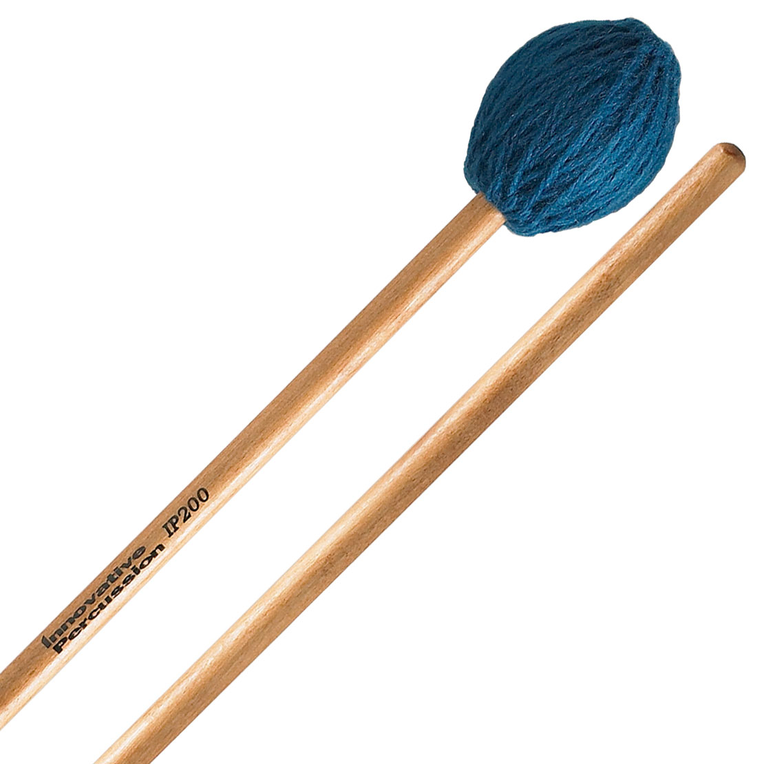 Innovative Percussion IP200 Soloist Series Medium Soft Marimba Mallets with Lacquered Birch Shafts