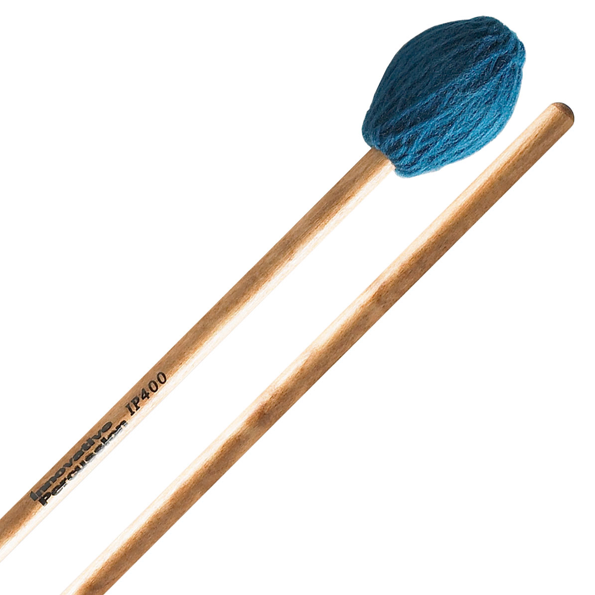 Innovative Percussion IP400 Soloist Series Hard Marimba Mallets with Lacquered Birch Shafts