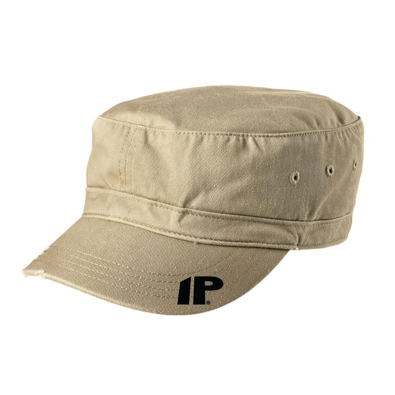 Innovative Percussion Distressed Military Hat