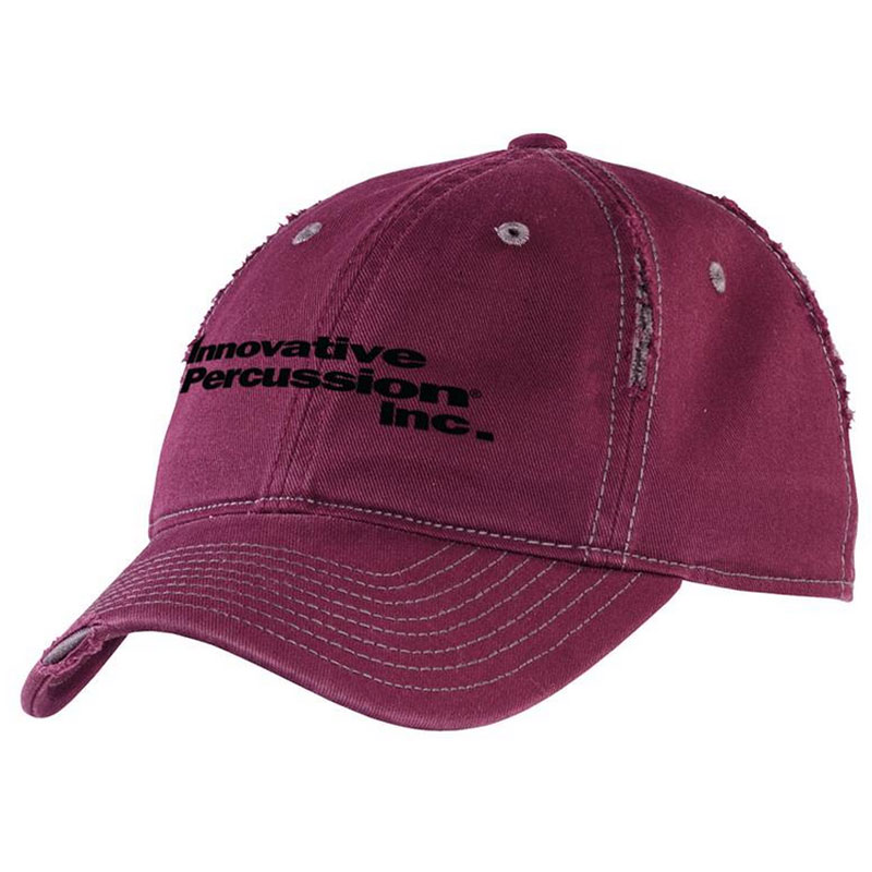 Innovative Percussion Distressed/Ripped Baseball Cap