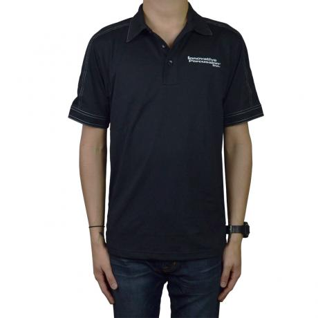 Innovative Percussion Men's Contrast Stitch Micropique Polo Shirt