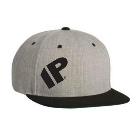 Innovative Percussion Gray/Black Snapback Cap