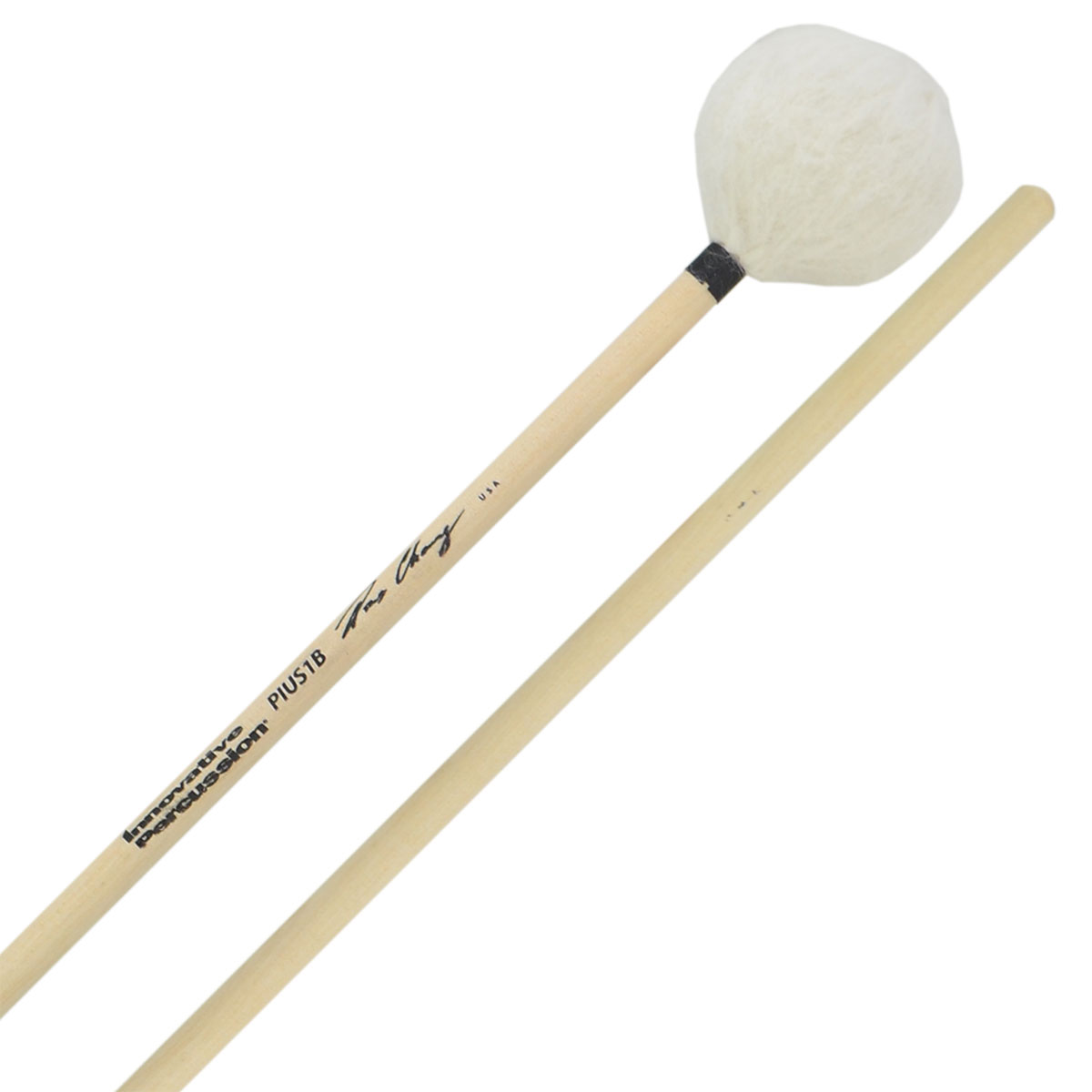 Innovative Percussion Pius Cheung Soft Marimba Mallets with Birch Handles