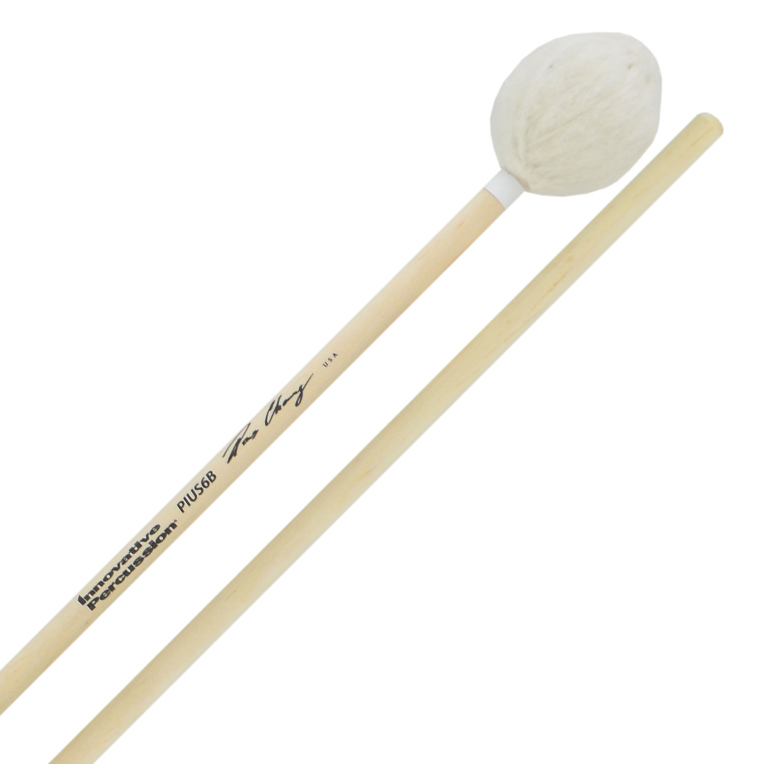 Innovative Percussion Pius Cheung Very Hard Marimba Mallets with Birch Handles