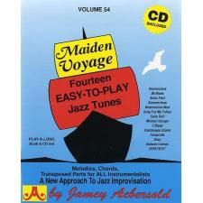Maiden Voyage Vol. 54 with CD by Aebersold