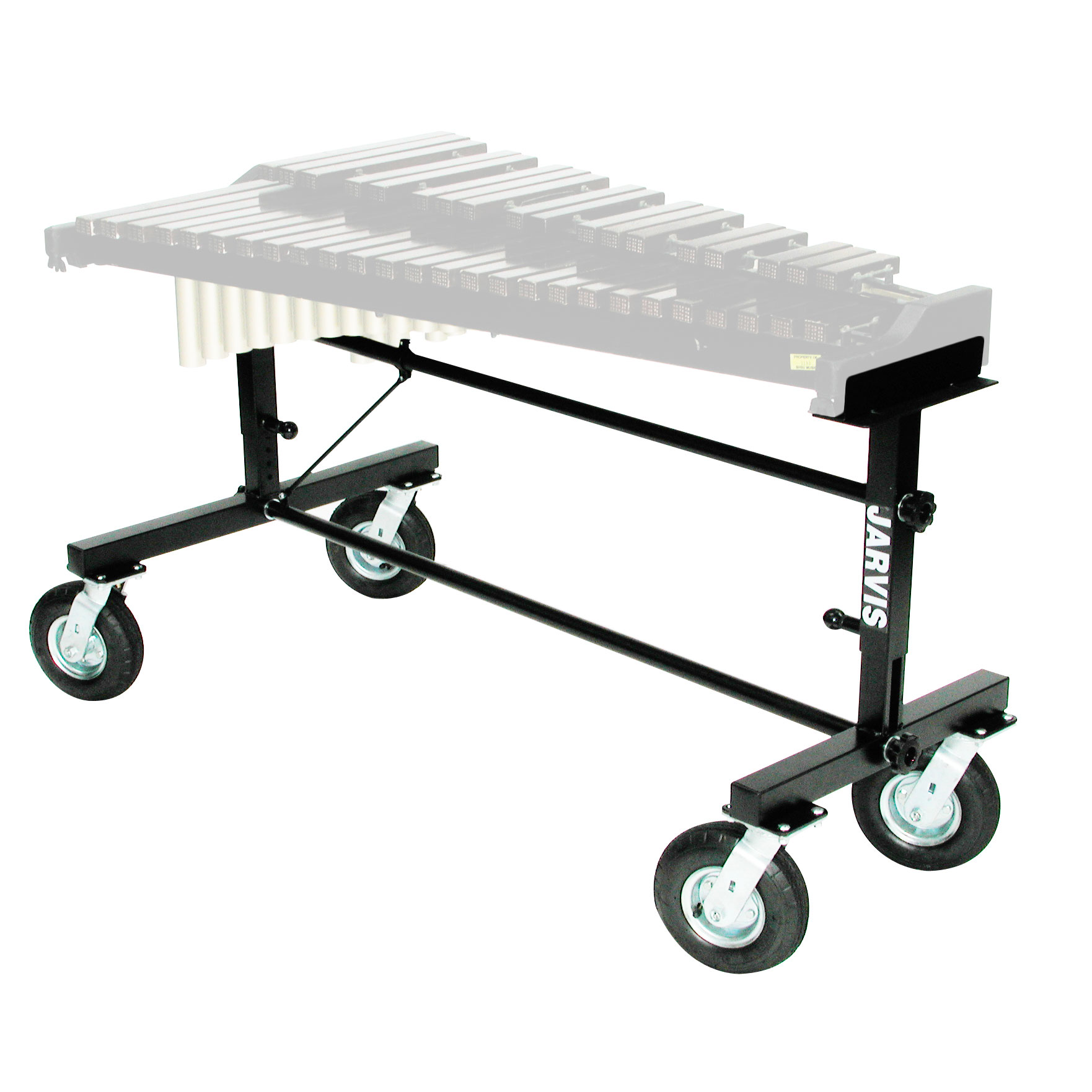 Rolling percussion carts dollies lone star percussion for Yamaha student bell kit with backpack and rolling cart