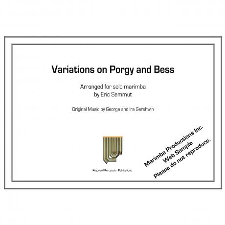 Variations on Porgy and Bess by Eric Sammut