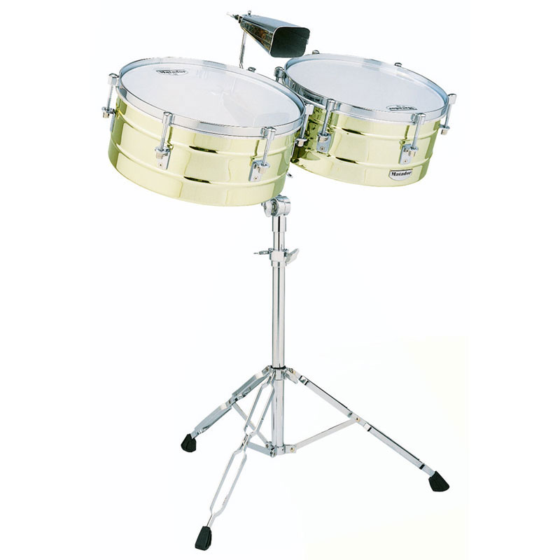 "LP 14"" & 15"" Matador Brass Timbale Set"