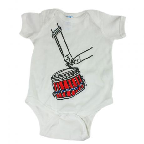 Lone Star Percussion Little Drummer Baby Bodysuit