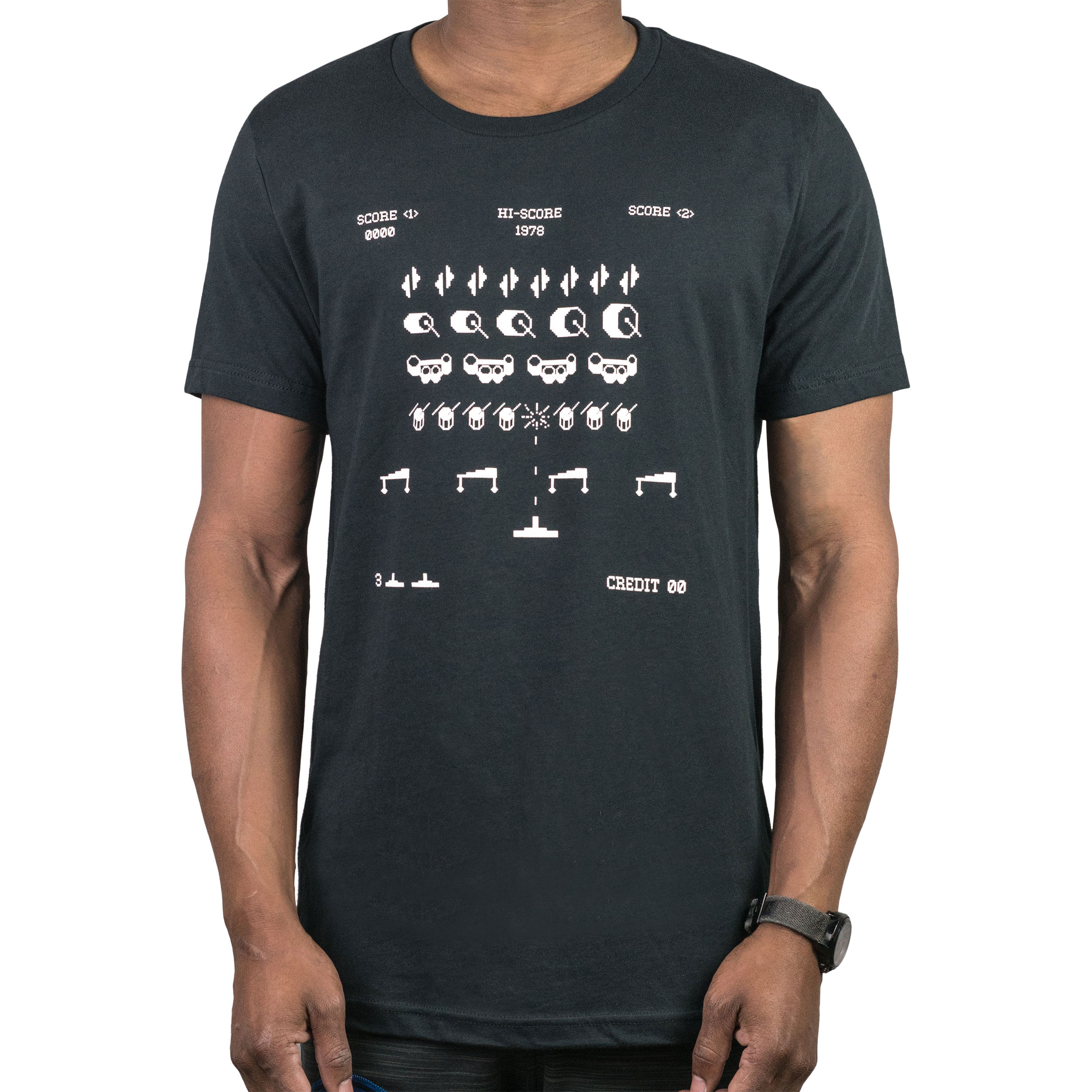 Lone Star Percussion Drum Invaders Drummer T-Shirt
