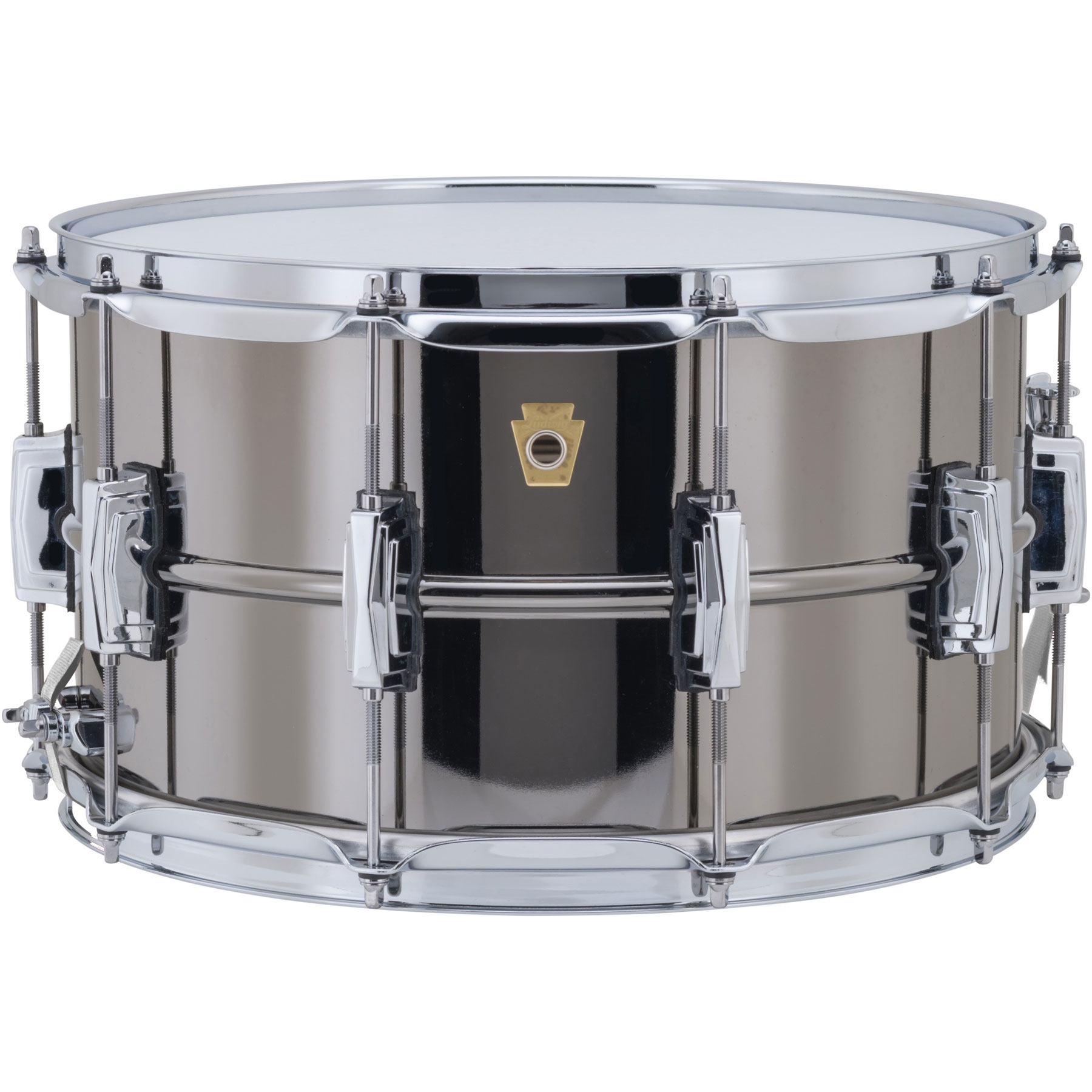 "Ludwig 8"" x 14"" Black Beauty Snare Drum with Imperial Lugs"