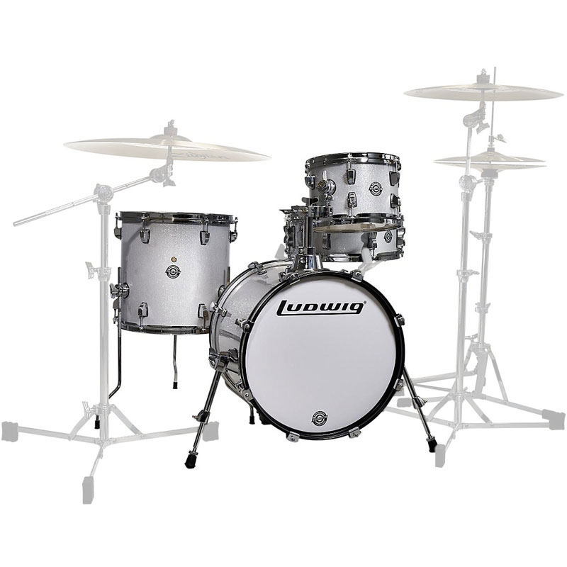 ludwig breakbeats by questlove 4 piece drum set shell pack 16 bass 10 13 toms 14 snare. Black Bedroom Furniture Sets. Home Design Ideas