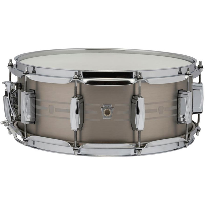 "Ludwig 5.5"" x 14"" Heirloom Stainless Steel Snare Drum"
