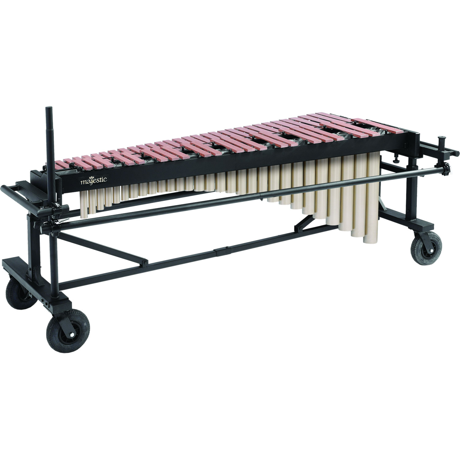Majestic 4.3 Octave Quantum Marimba - Synthetic Bars, Field Frame